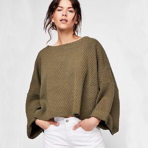 Free People I Can't Wait Dolman Sweater